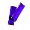 Acrylic 8X23mm Rectangle Facet Purple